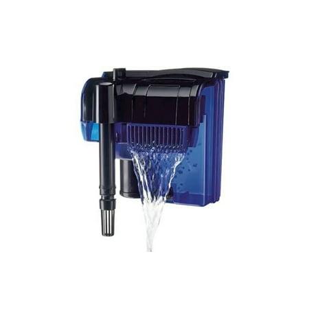Penn plax cascade hang on power aquarium filter for Fish filter walmart