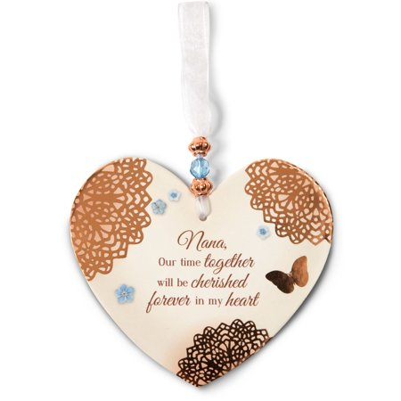 Heart Shaped Ornaments (Light Your Way Memorial - In Memory Heart Shaped Christmas Ornament)