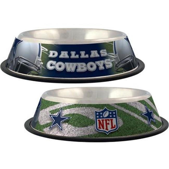 Hunter Mfg DN-30758 Dallas Cowboys Stainless Dog Bowl
