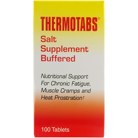 Thermotabs Salt Supplement Buffered Tablets, 100 (Elevit With Iodine 100 Tablets Best Price)