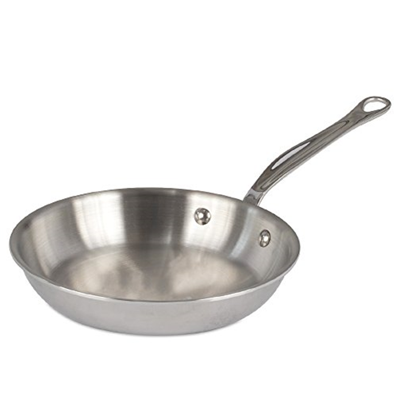 Mauviel MCook Saucepan, Cast Stainless Steel Handle- 0.9 qt, 4.8 in. diam.