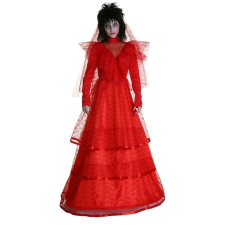Red Gothic Wedding Dress Costume (Gothic Females)