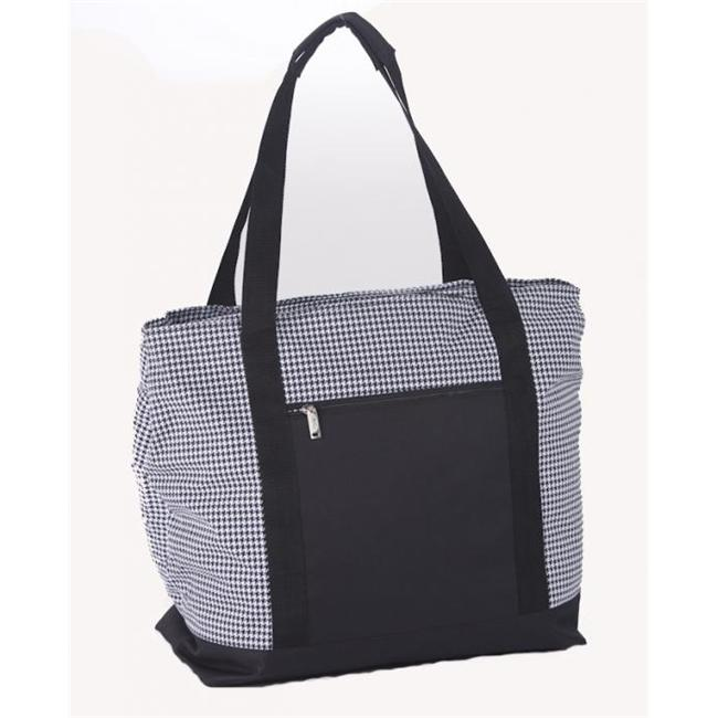 Picnic Plus Psm-121Ht Lido 2 In 1 Cooler Bag- Houndstooth