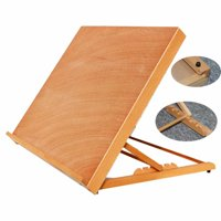 Voomwa HJ-A2 Portable Sketch Table Drawing Table Burlywood