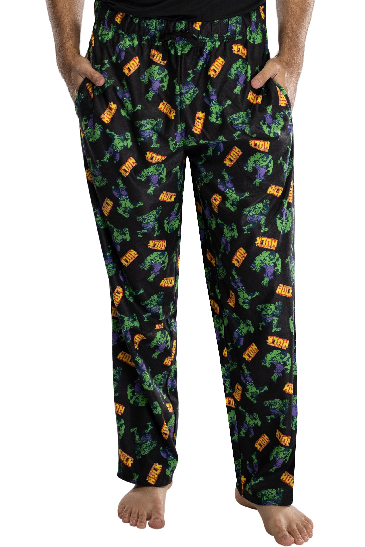 Superman Mens Valentine/'s Hearts Pajama Lounge Sleep Pants New S M XL L