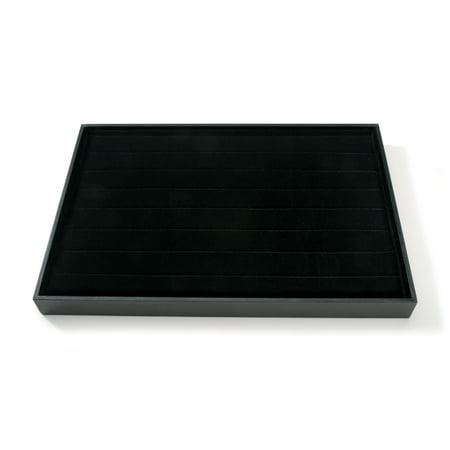 Velvet Ring Display Tray Black