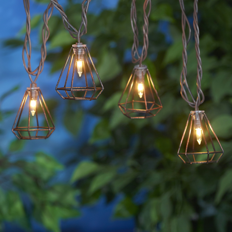 Mainstays 20 Ul Metal Wire Diamond Light Set