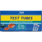 API Replacement Test Tubes With Caps For Any Aquarium Test Kit Including API Freshwater Master Test Kit, 24-Count
