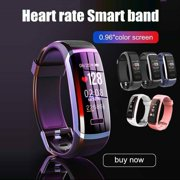Smart Watch Health Activity Fitness Tracker Real Time Heart Monitor FitBit