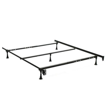 how to put a bed frame together with center support