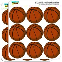 "Basketball 18 2"" Planner Calendar Scrapbooking Crafting Stickers"
