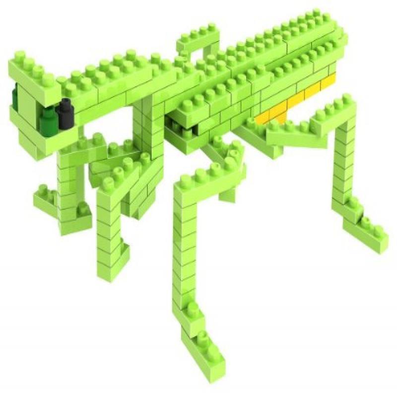 Loz Micro Blocks, Mantis Model, Small Building Block Set, Nanoblock Compatible (120 pcs),... by