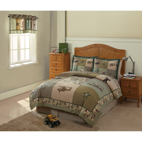 My World Alpha Bravo Charlie Bedding Quilt Set