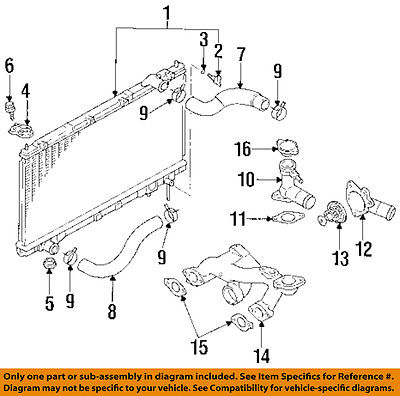 CHRYSLER OEM Radiator-Lower Hose Clamp MR404538