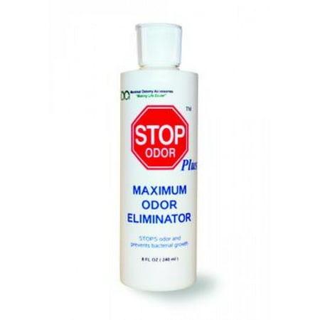 Stop plus ostomy pouch deodorizer 8 oz. part no. stop-8 (1/ea)