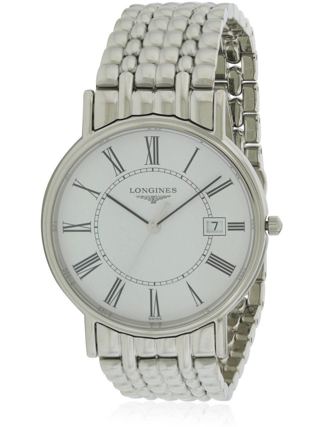 Longines La Grande Classique Presence Stainless Steel Men's Watch, L47904116