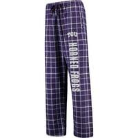 TCU Horned Frogs Women's Flannel Pajama Pants - Purple -