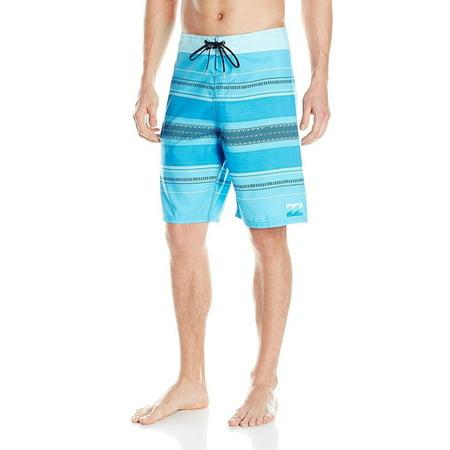Billabong Men's Parallel Cyan Boardshorts 34