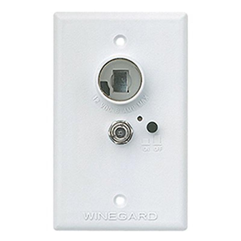 Winegard RA-7296 Wall Plate Signal Amplifier