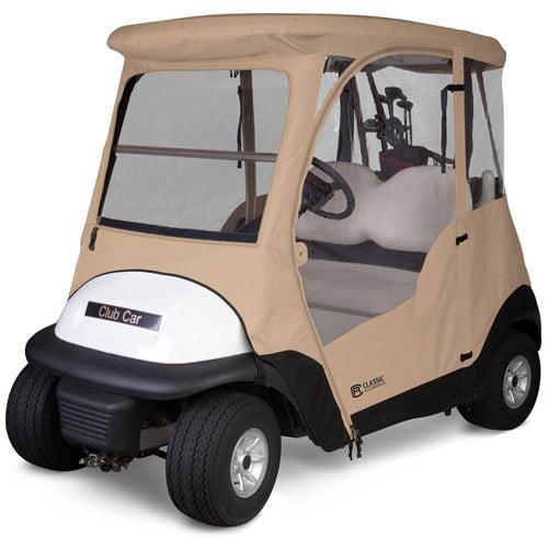 Classic Accessories Club Car Precedent Golf Cart Enclosure by Classic Accessories