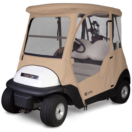 Classic Accessories Club Car Precedent Golf Cart Enclosure - Walmart.com