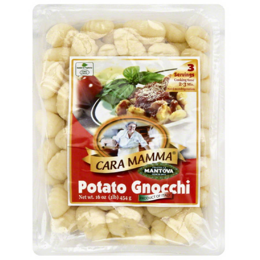 Cara Mamma Potato Gnocchi, 16 oz, (Pack of 12)