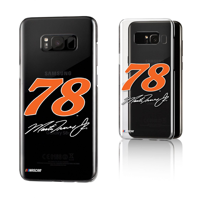 Martin Truex Jr. Insignia Clear Case for Galaxy 8+