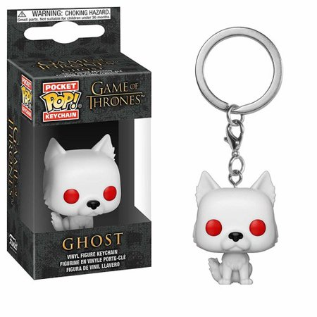 FUNKO POP! KEYCHAIN: Game of Thrones - S9 - Ghost - Ghost Prop