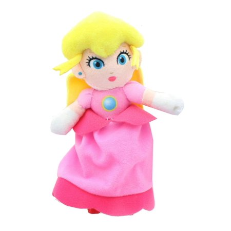 Nintendo Super Mario Bros. 7 Inch Princess Peach Plush](Princess Peach Mario Bros)