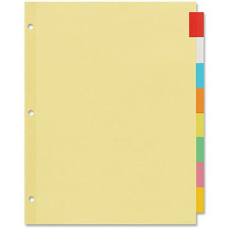 Avery Index Label Dividers (Avery Index Maker Translucent Multi Label Dividers)