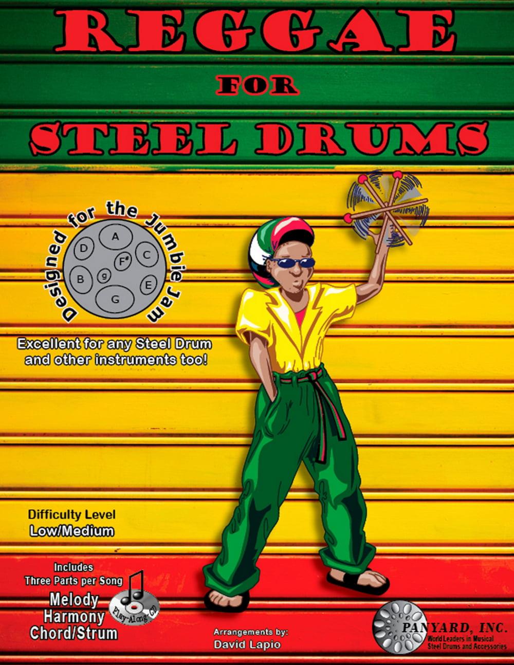 Panyard Jumbie Jam Reggae for Steel Drum Song Book by