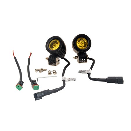 - Amber Mini Trail Lights LED OZ-USA® CREE Spot Motorcycle Offroad Dual Sport Enduro Fog KTM HID