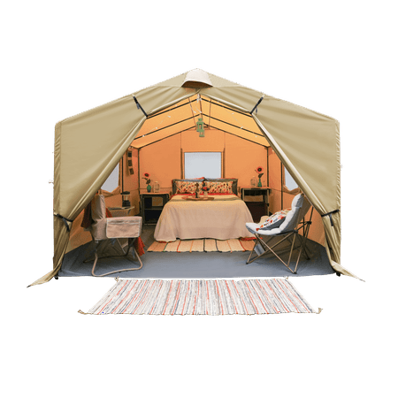 Ozark Trail 12' x 10' All-Season Outfitter Wall Tent, Sleeps