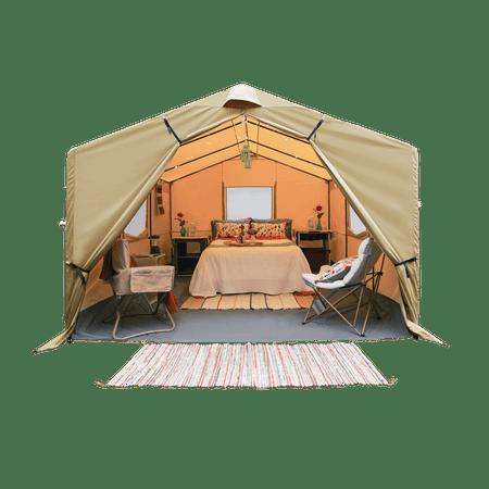 Ozark Trail 12x10 Wall Tent Sleeps 6 Walmart Com