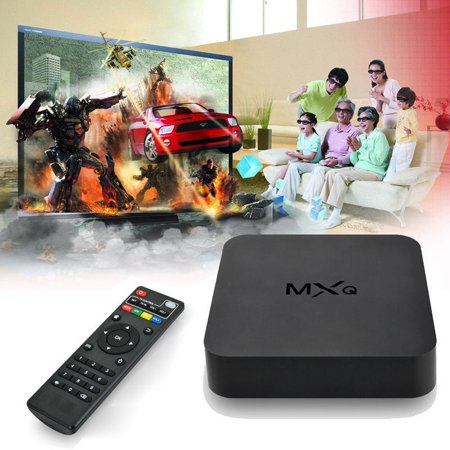 MCBOSON MXQ Amlogic S805 Quad Core Android TV Box Kodi Pre installed Android 4.4 1gb RAM 8gb Flash Streaming Media Player Support 1080p Kodi WiFi
