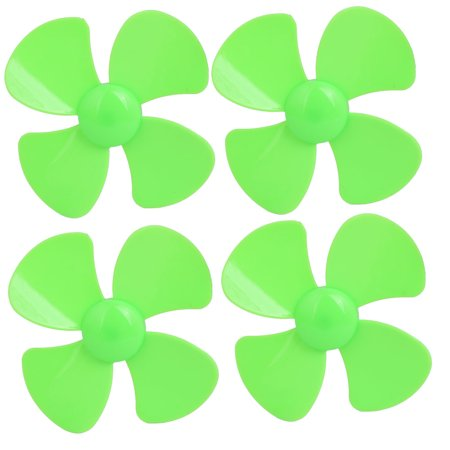 4PCS Brushless Motor 4 Vanes RC Boat Airplane Propeller 3-inch Dia