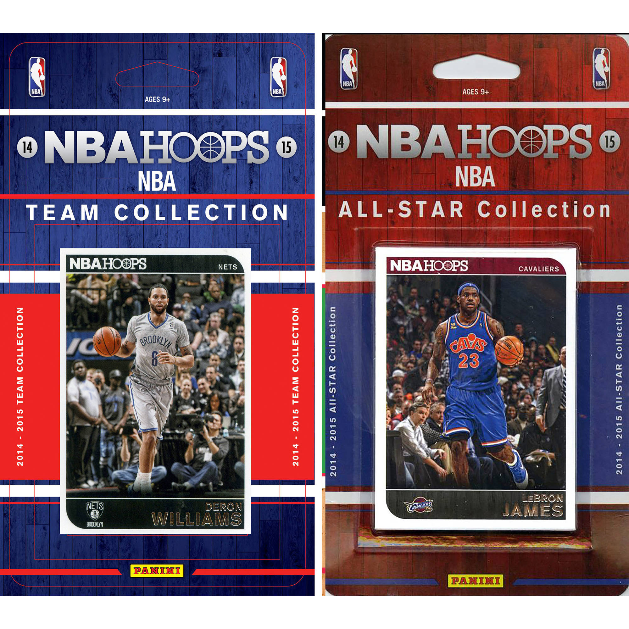 C&I Collectables NBA Brooklyn Nets Licensed 2014-15 Hoops Team Set Plus 2014-15 Hoops All-Star Set