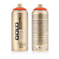 Montana GOLD 400 ml Spray Color, Power Orange