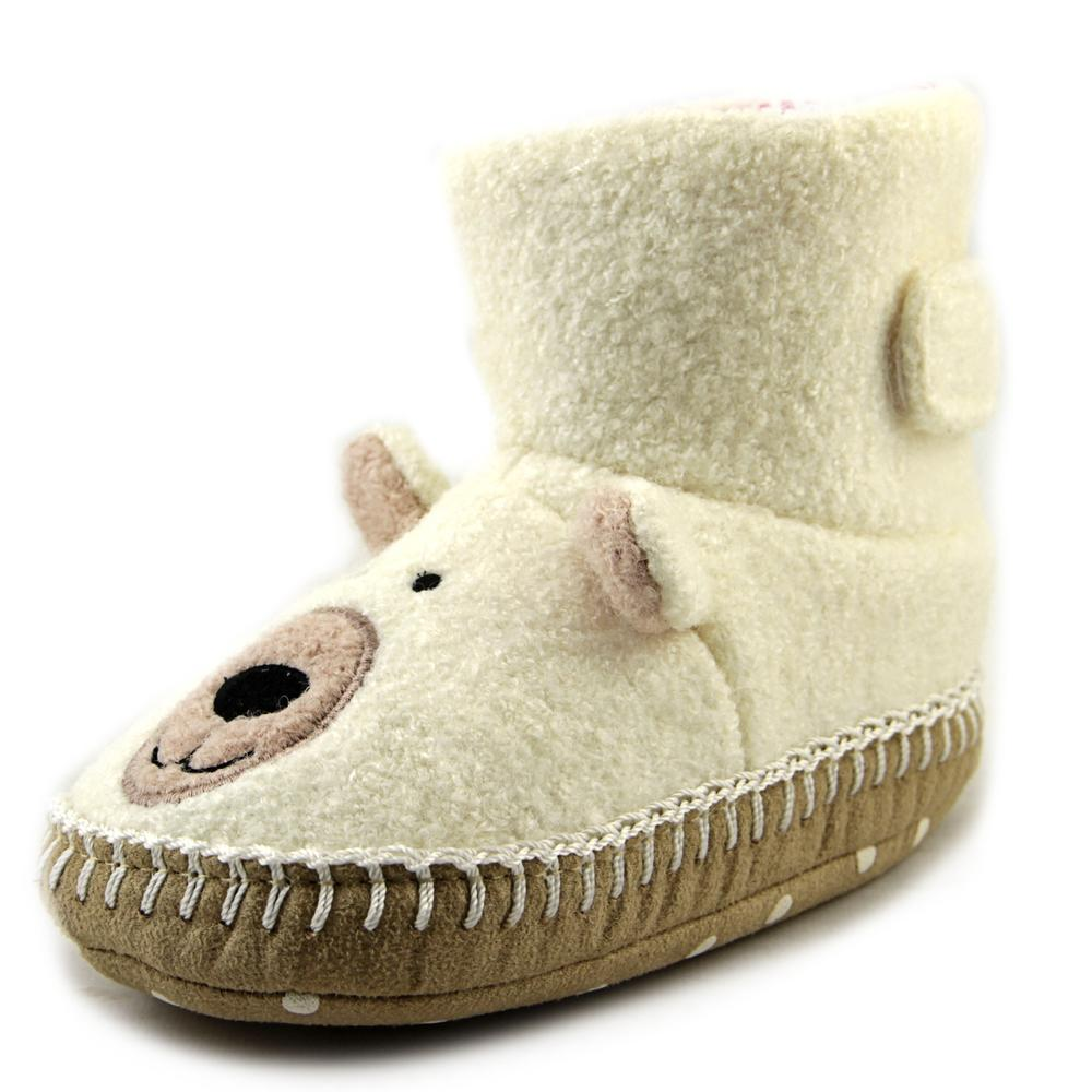 Hanna Andersson Snow Bear   Round Toe Synthetic  Slipper