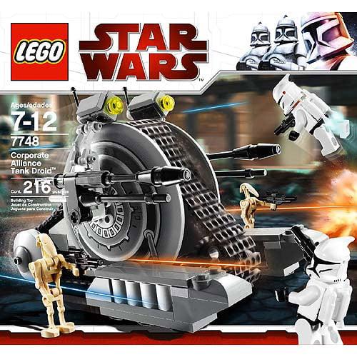 LEGO Star Wars The Clone Wars Corporate Alliance Tank Droid Set #7748