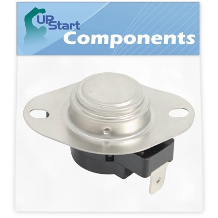Kitchenaid Dryer Thermostat (3390291 Dryer Thermostat Replacement for KitchenAid KEYE677BWH3 Dryer - Compatible with WP3390291 High Limit Thermostat - UpStart Components Brand)