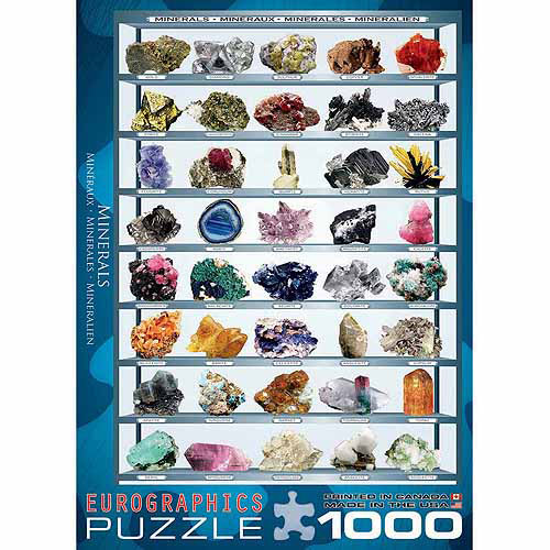 EuroGraphics Minerals of the World 1000-Piece Puzzle