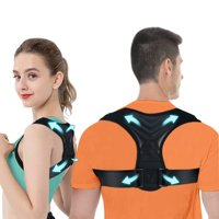 Posture Corrector for Men And Women, Upper Back Brace For Clavicle Support, Adjustable Back Straightener And Providing Pain Relief From Neck,Back Shoulder, Fit 37-49''