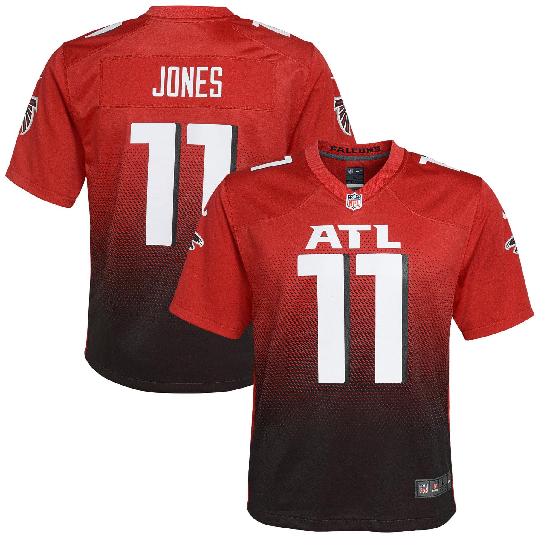 Julio Jones Atlanta Falcons Nike Youth 2nd Alternate Game Jersey - Red - Walmart.com