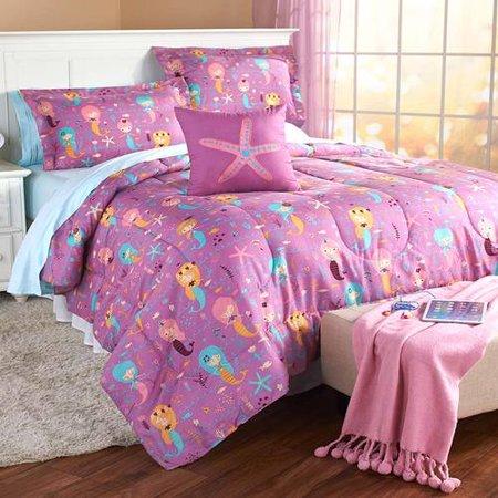 Mermaid Comforter (Mermaid or Unicorn Comforter Set-MRM)