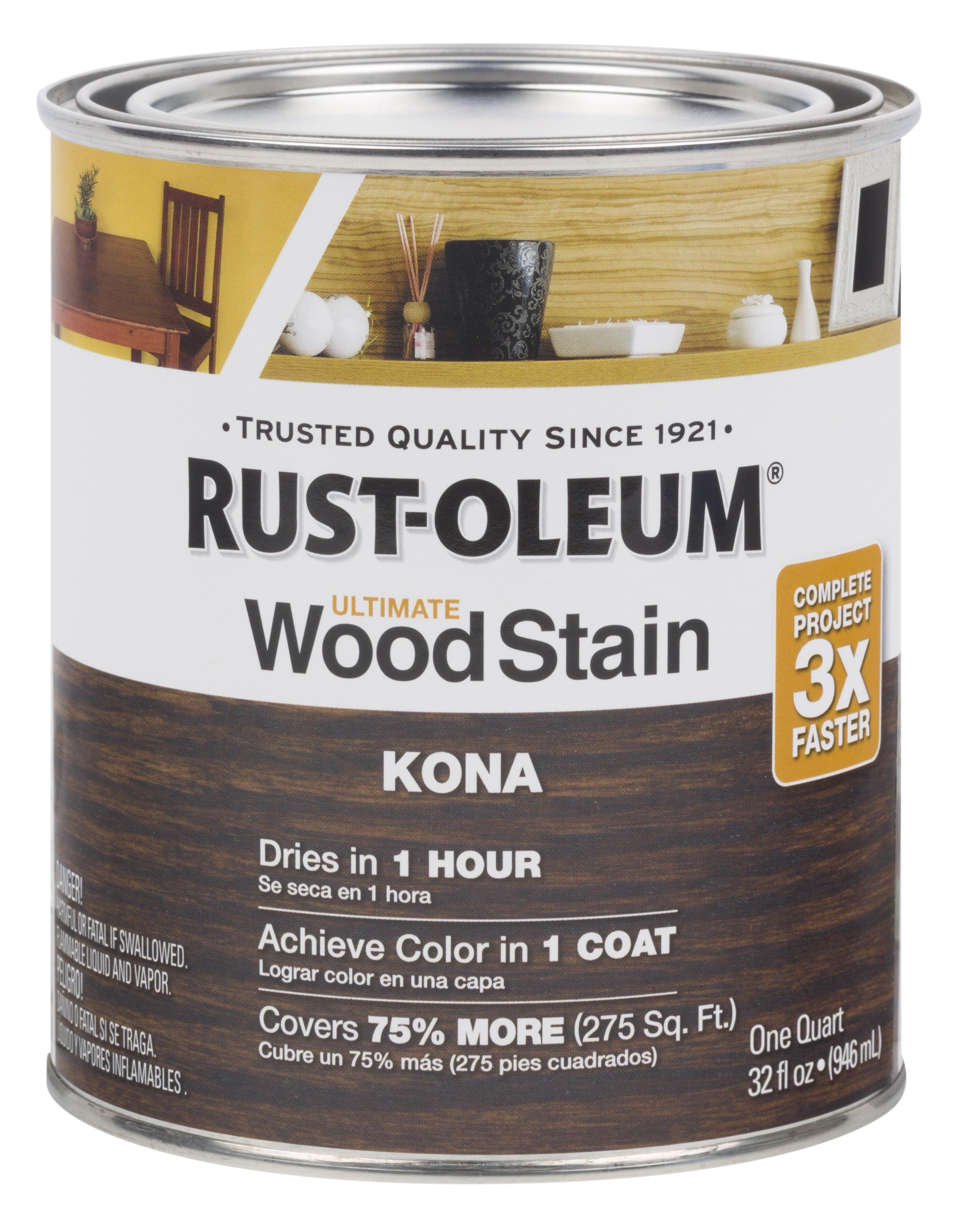 Kona Rust Oleum Ultimate Wood Stain