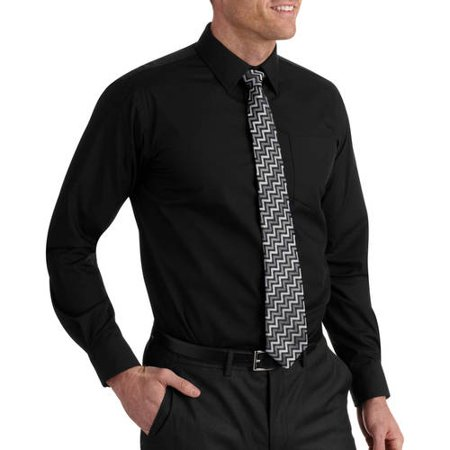 6cd01bc60dc ONLINE - Men s Packaged Dress Shirt-Tie Set - Walmart.com