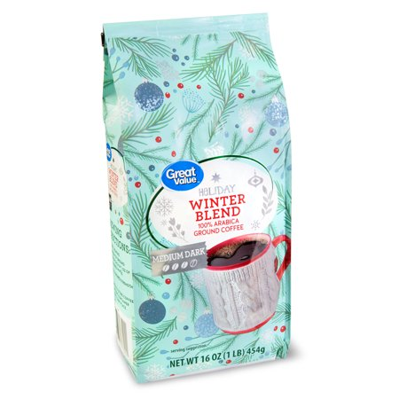 Great Value Holiday Blend Coffee 6/16oz