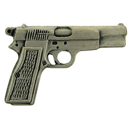 """Browning Semi Auto Handgun Pin Pewter 1"""""""