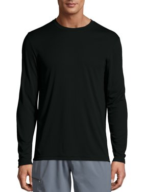 Hanes Men's Cool Dri Performance Long Sleeve T-shirt (50+ UPF), up to size 3XL